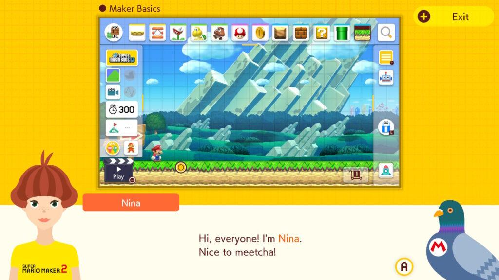 Super Mario Maker 2 Tutorial Maker Basics.