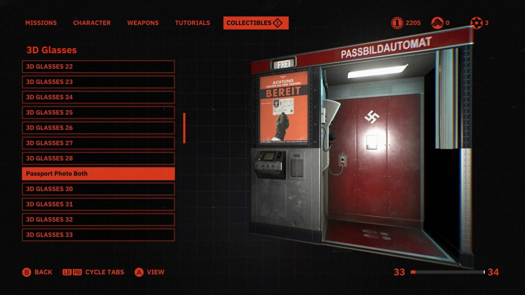 Wolfenstein Youngblood Bildautomat