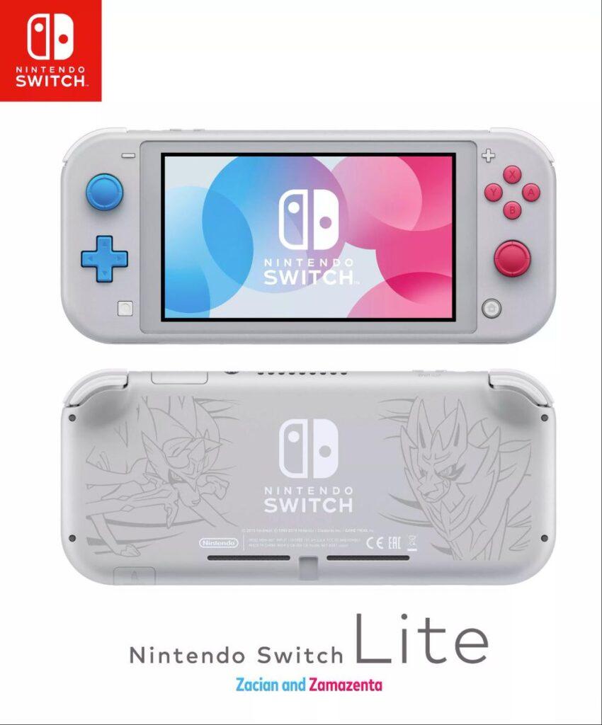 Nintendo Switch Lite Pokemon Schwert und Schild