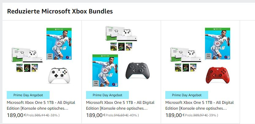 Amazon Xbox Bundles
