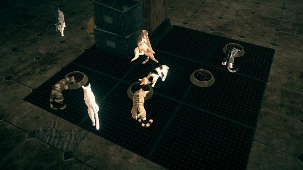 Katzen Astral Chain Screenshot