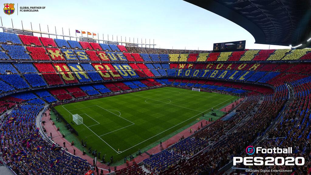 Camp Nou FC Barcelona PES 2020