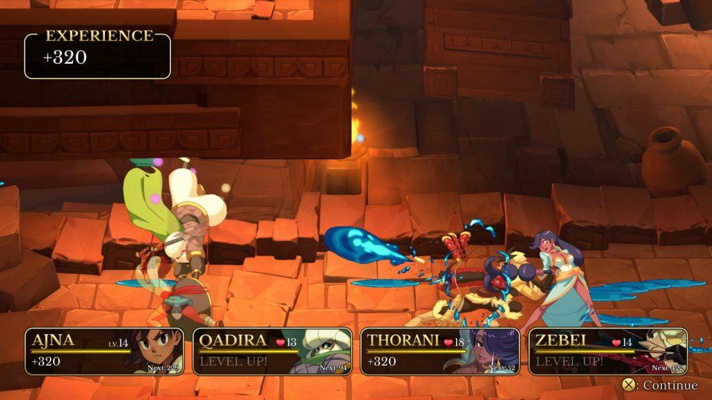 Indivisible Kampf Screenshot