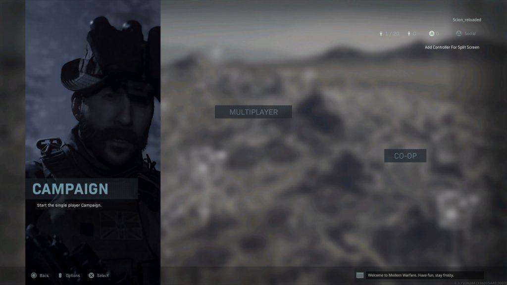 Call of Duty Modern Warfare Co-Op
