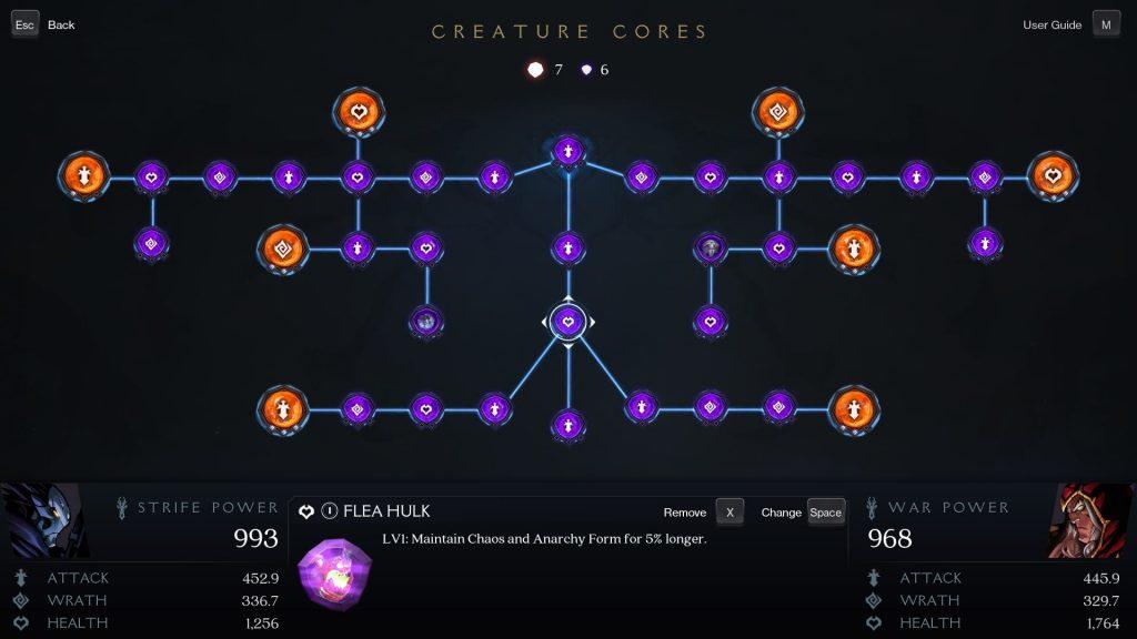 Creature Cores Darksiders Genesis