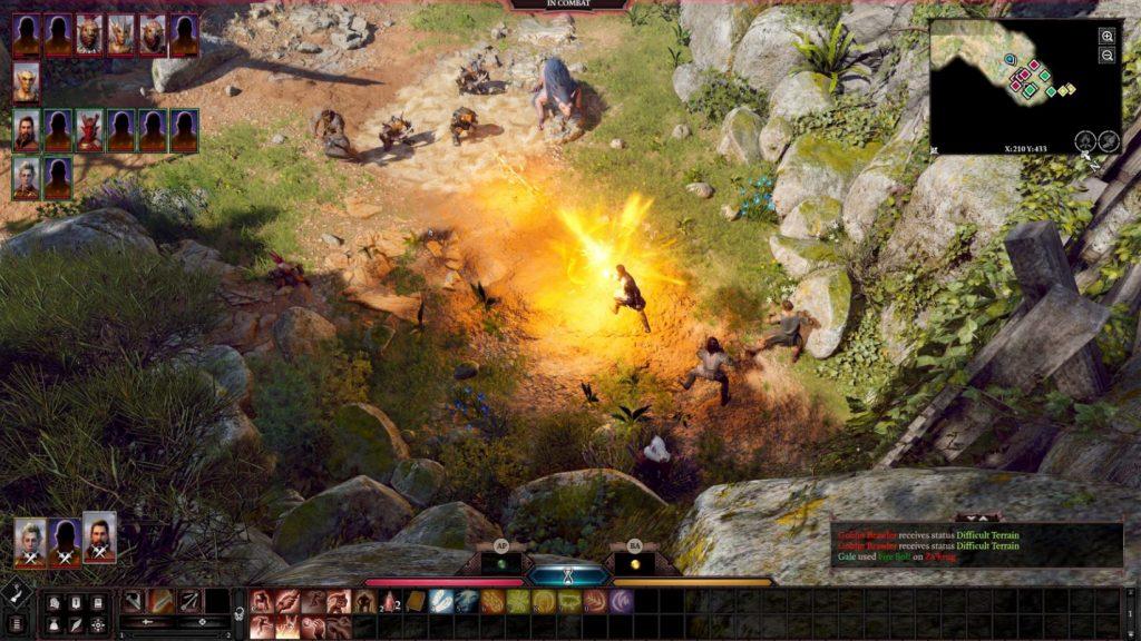 Baldur's Gate 3 Kämpfe