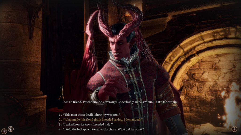 Baldur's Gate 3 Teufel