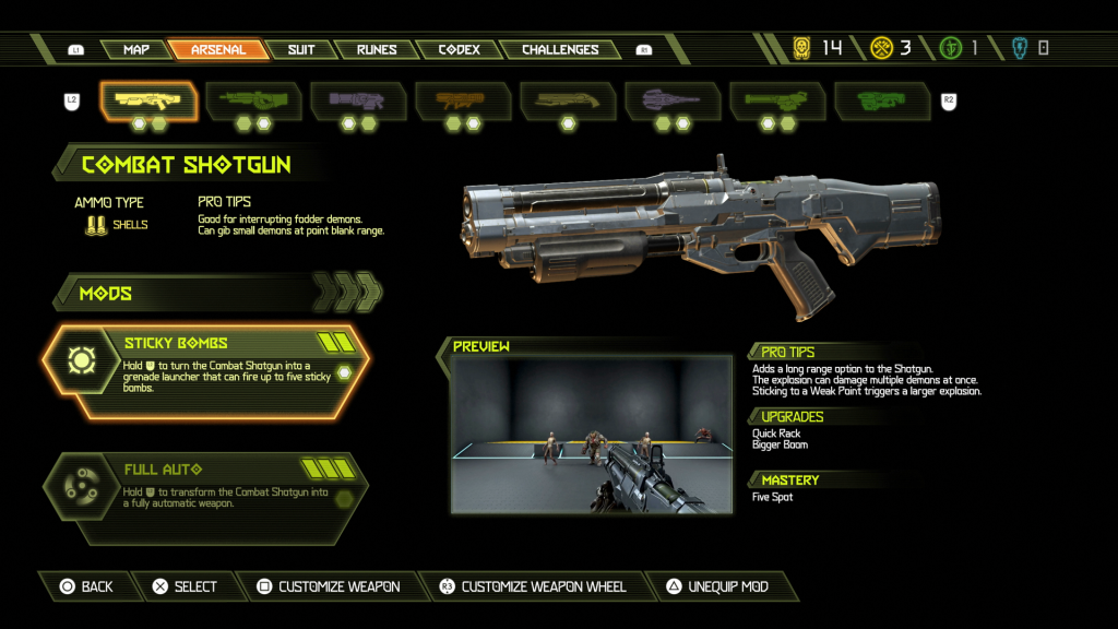 Doom Eternal Weapons Screenshot