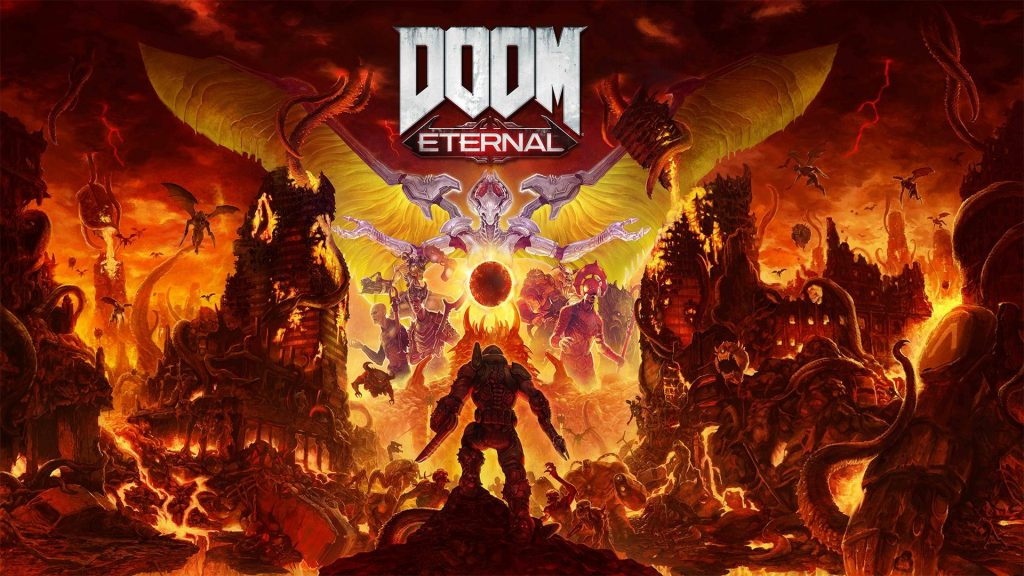 Doom Eternal Wallpaper Cover Art
