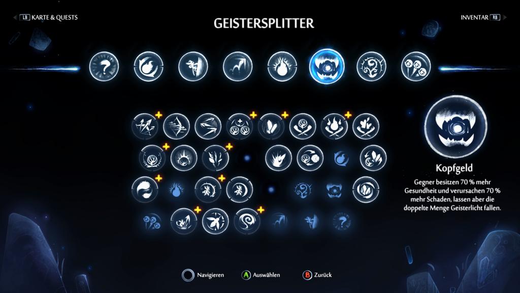 Ori Geistersplitter Screenshot