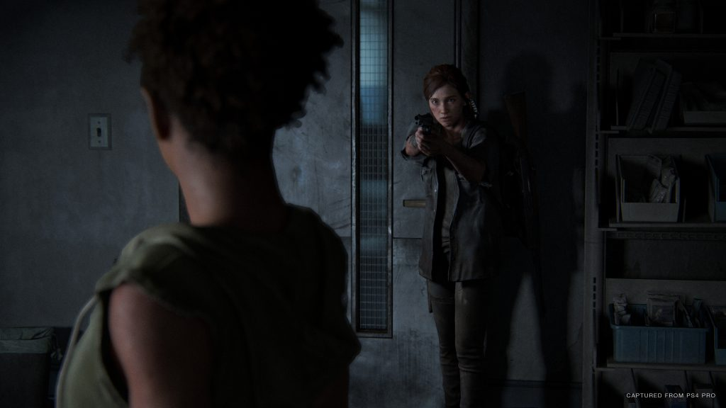 Ellie Nora Screenshot The Last of Us Part 2
