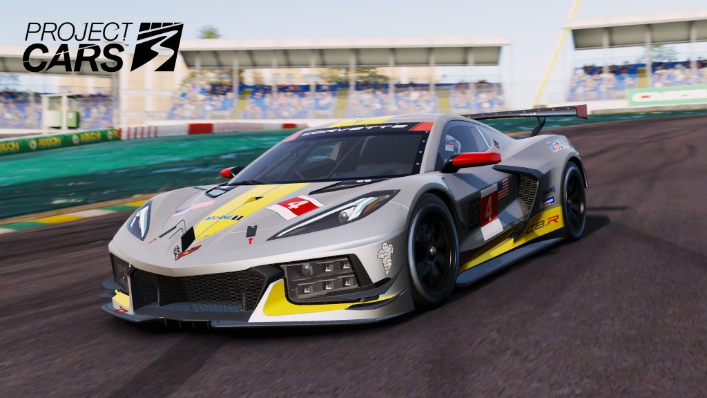 Project Cars 3 Cover Artwork