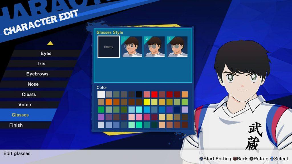 Charakter Editor Captain Tsubasa