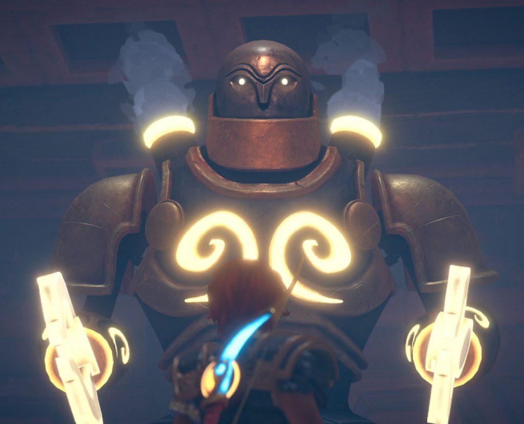 Immortals: Fenyx Rising Boss Fight