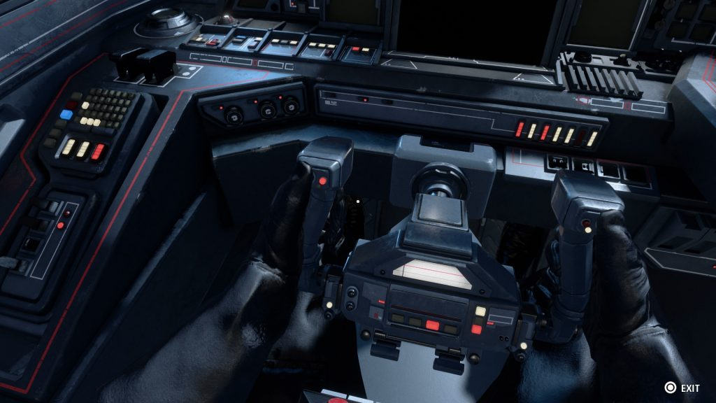 Star Wars Squadrons Cockpit Ansicht