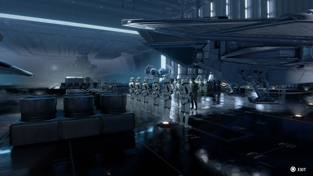 Star Wars Squadrons Hangar