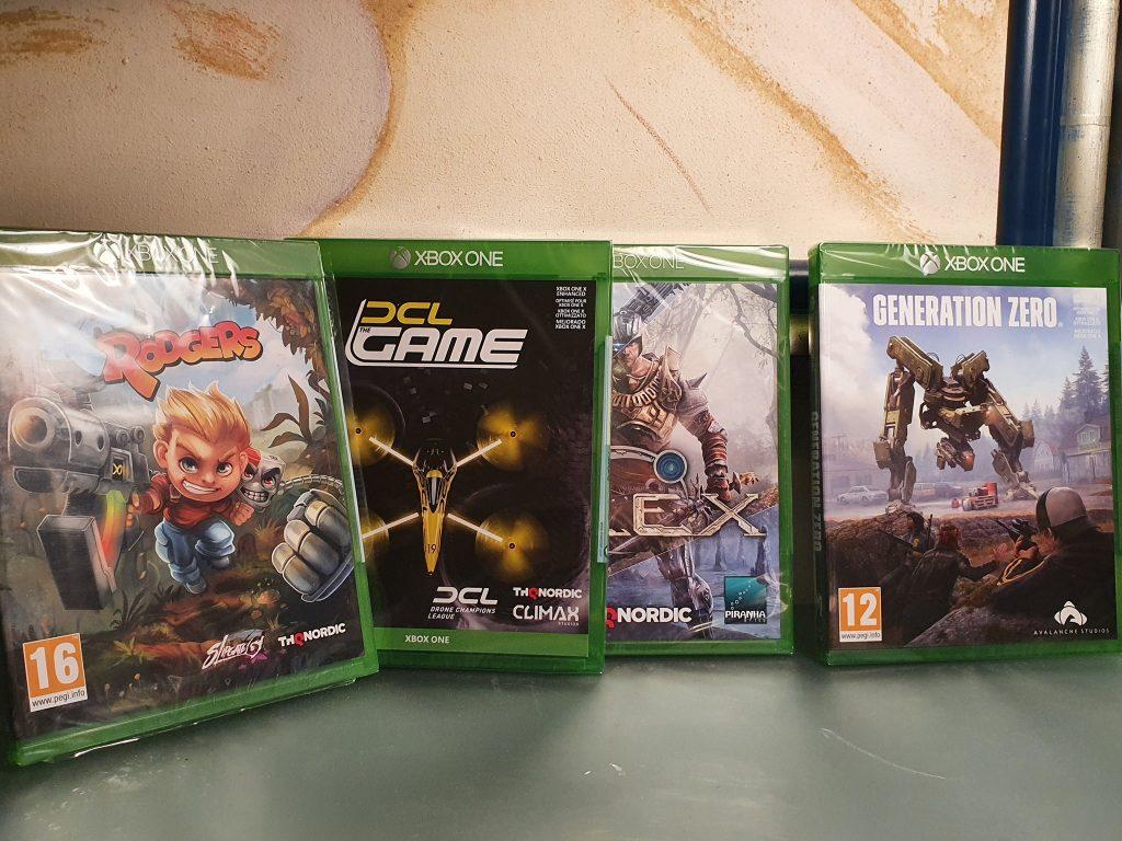 THQ Nordic Xbox One Games Gewinnspiel