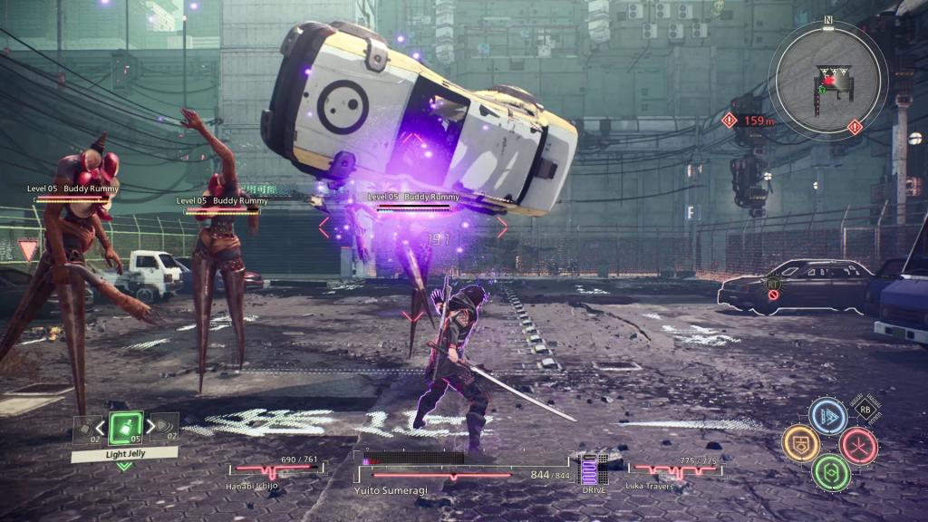Scarlet Nexus Kampf Gegner