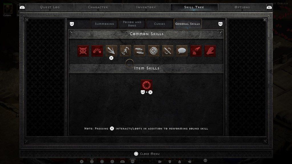 Controller Diablo 2