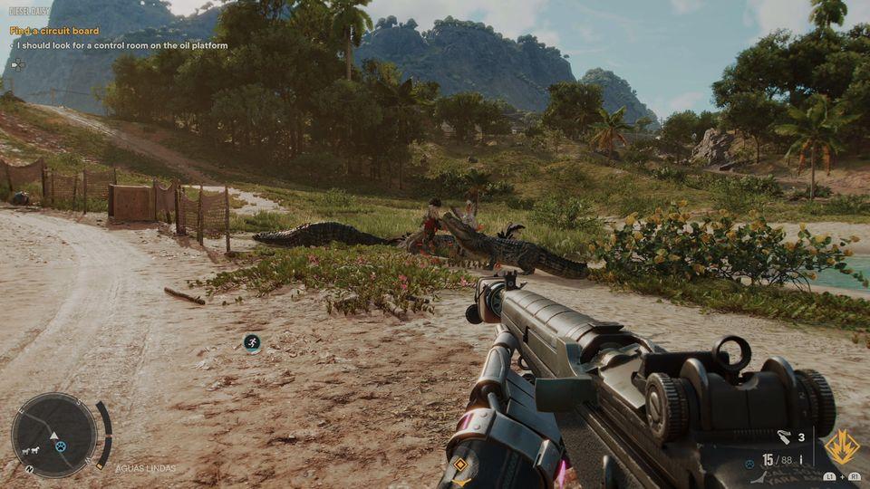Krokodile Far Cry 6