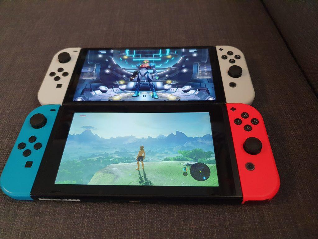 Nintendo Switch OLED vs. Nintendo Switch